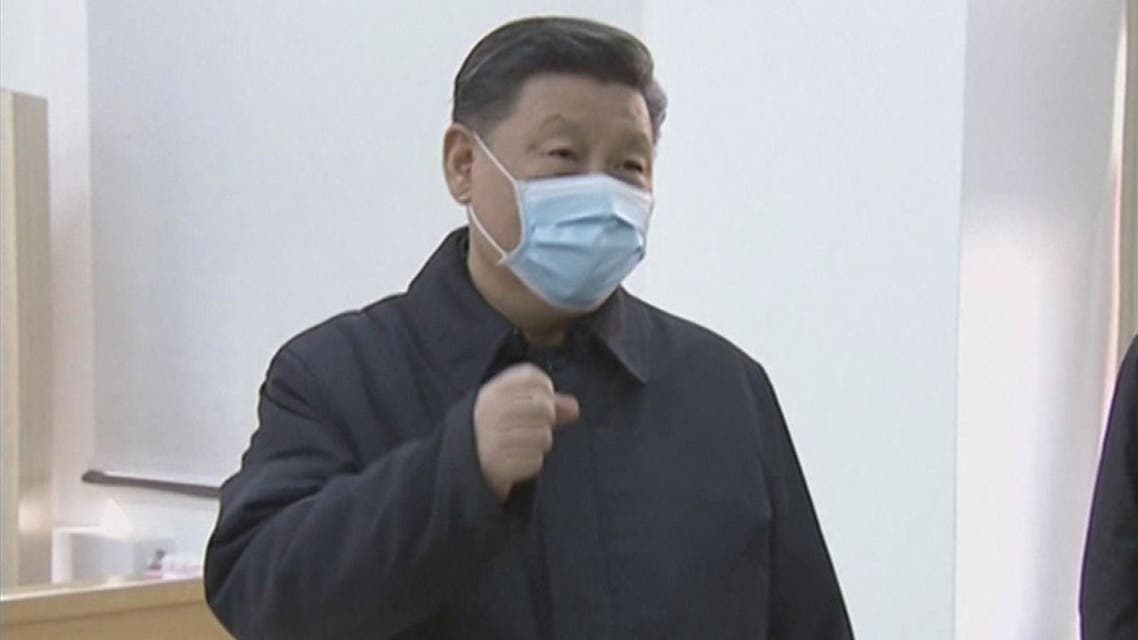 الرئيس الصيني: سنفوز في حربنا ضد كورونا