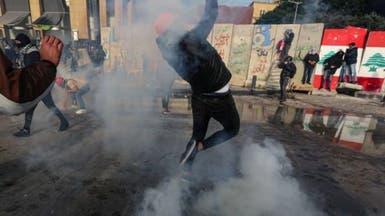 لبنان.. نقل 18 مصاباً للمستشفيات جراء المواجهات وسط بيروت