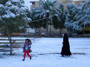 بالصور.. الثلوج تغطي بغداد وكربلاء لأول مرة منذ 12 عاما