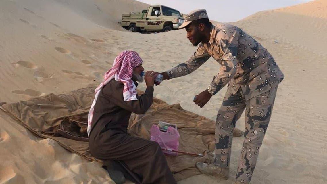 KSA: Displaced persons found in Desert