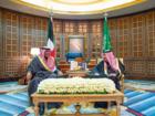 الملك سلمان يستقبل رئيس مجلس الوزراء الكويتي