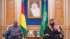 محمد بن سلمان يبحث مع رئيس غينيا كوناكري العلاقات الثنائية