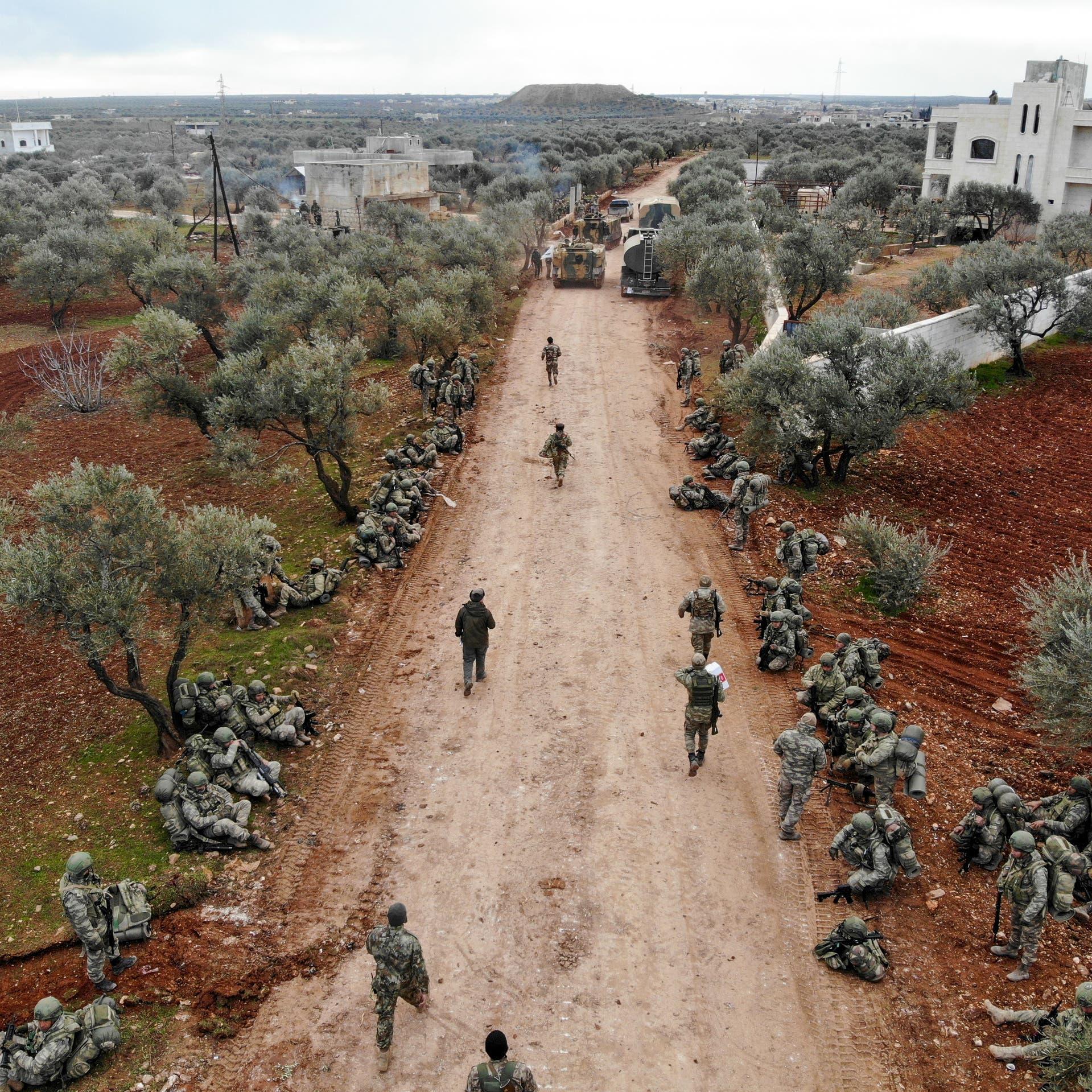 مقتل 34 جندياً تركياً في إدلب.. وأردوغان يستنفر