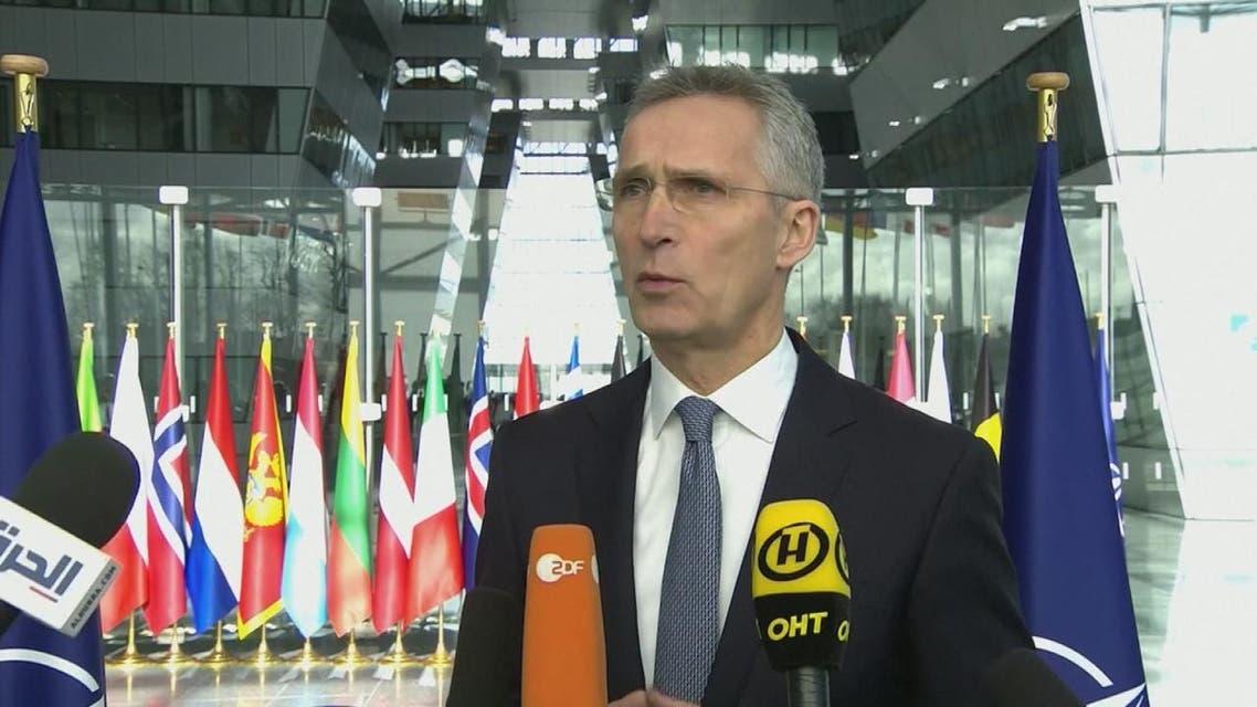 الناتو: لدينا مهمة تدريبية في العراق وبدعوة حكومية