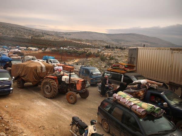 بـ24 ساعة.. أكثر من 70 ألف مدني نزحوا من ريف حلب الغربي