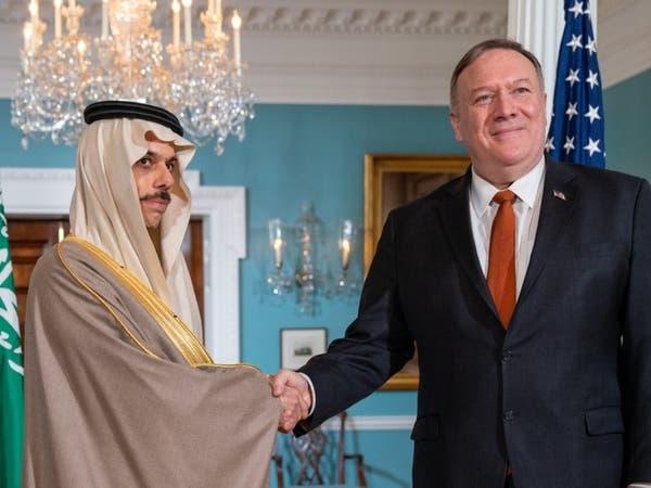 بومبيو: لدينا مع السعودية مصلحة واحدة في خفض التصعيد في اليمن