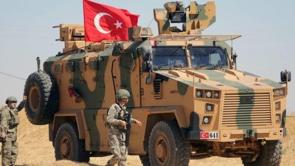 مدرعة تركية سوريا