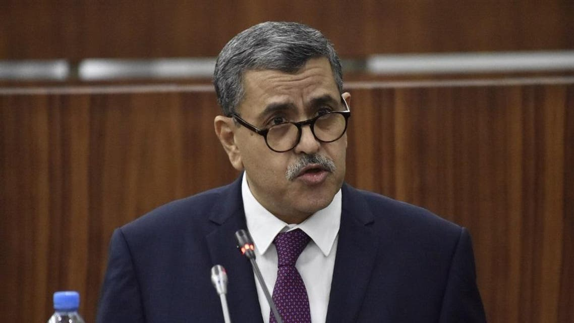 Algerian Prime Minister Abdelaziz Djerad. (File photo: AFP)