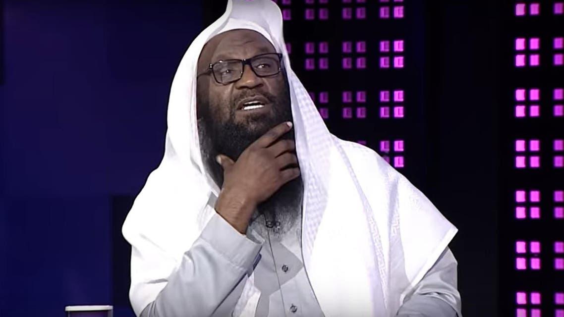 Saudi cleric Sheikh Adel al-Kalbani, former Imam of the Mecca Grand Mosque, in an interview on Rotana, February 9, 2020. (Screengrab: Rotana)