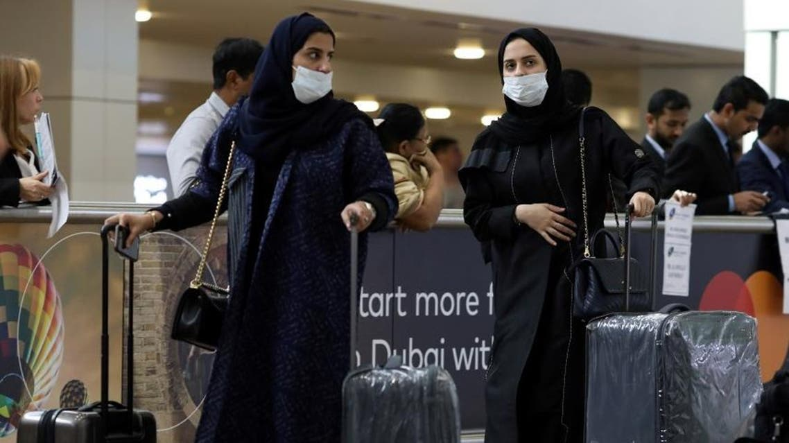 Travelers wear masks as they arrive at the Dubai International Airport, after the UAE's Ministry of Health and Community Prevention confirmed the country's first case of coronavirus, in Dubai, United Arab Emirates January 29, 2020. (File photo: Reuters)