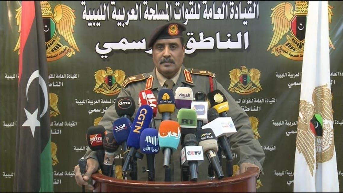 المسماري: القوات المسلحة تسيطر على 90% من أراضي البلاد