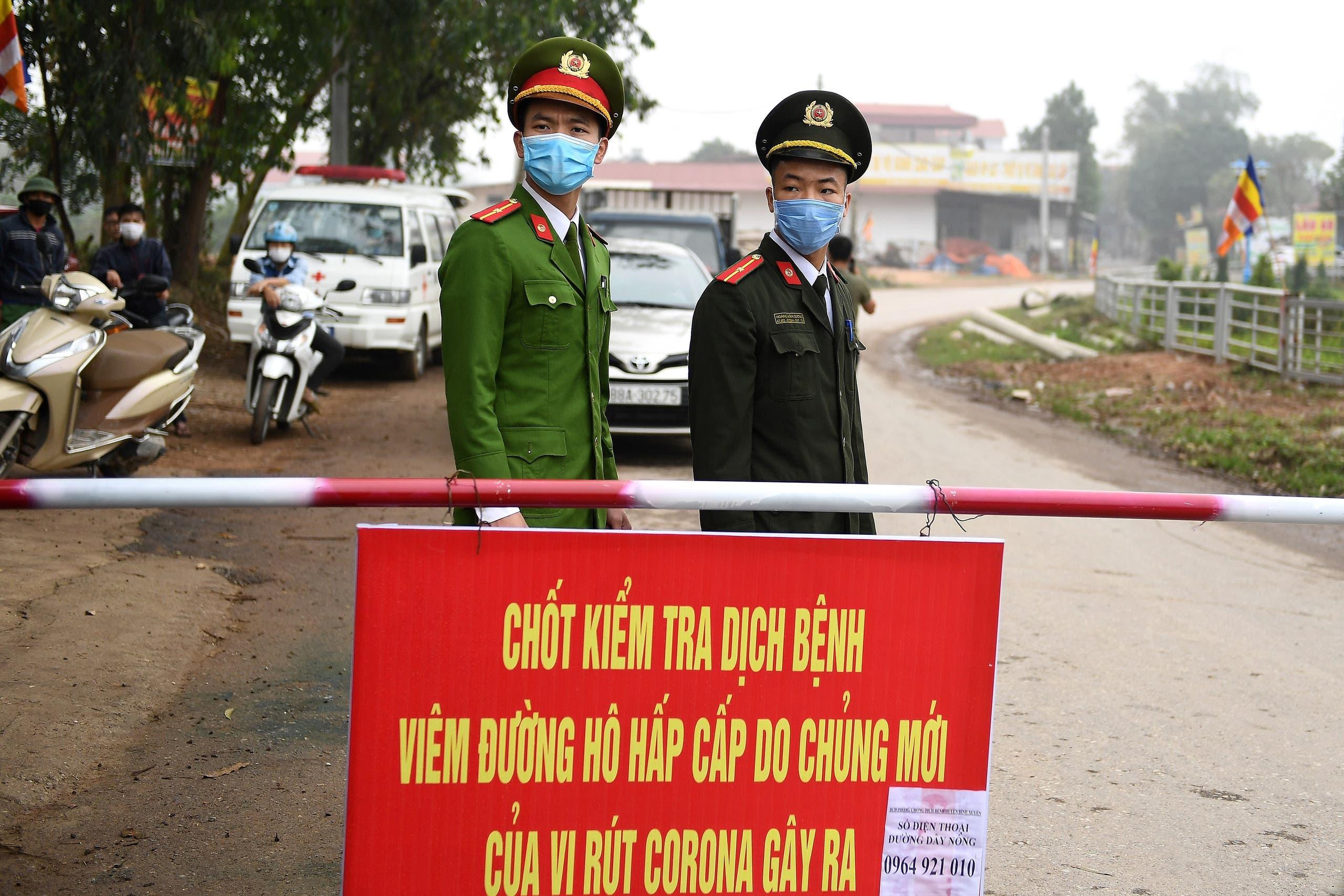 Son Loi Vietnam quarantine coronavirus - Reuters