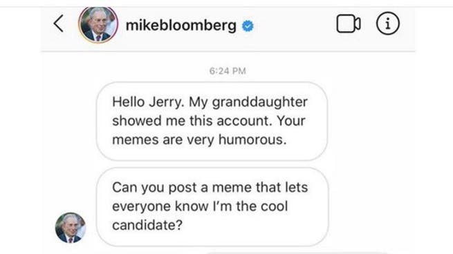 Mike Bloomberg launches paid meme campaign, prompting ridicule and criticism