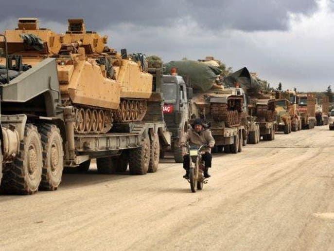 رغم الهدنة.. تعزيزات عسكرية للنظام وتركيا إلى إدلب