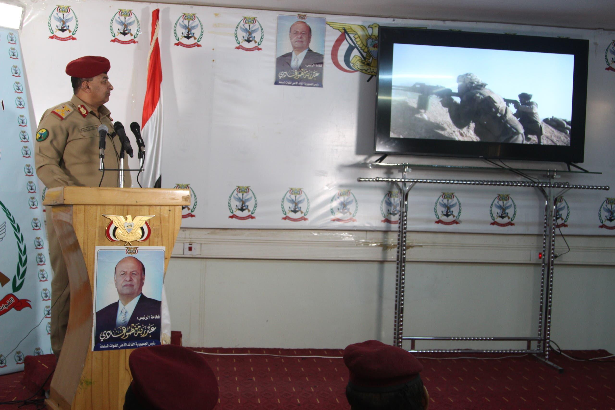 الناطق باسم الجيش اليمني عبده مجلي