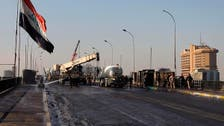 Iraq reopens Sinak Bridge in Baghdad closed for months by protests