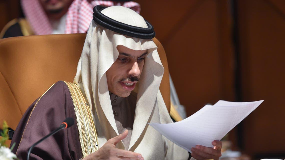 وزير الخارجية السعودي الأمير فيصل بن فرحان آل سعود(فرانس برس)