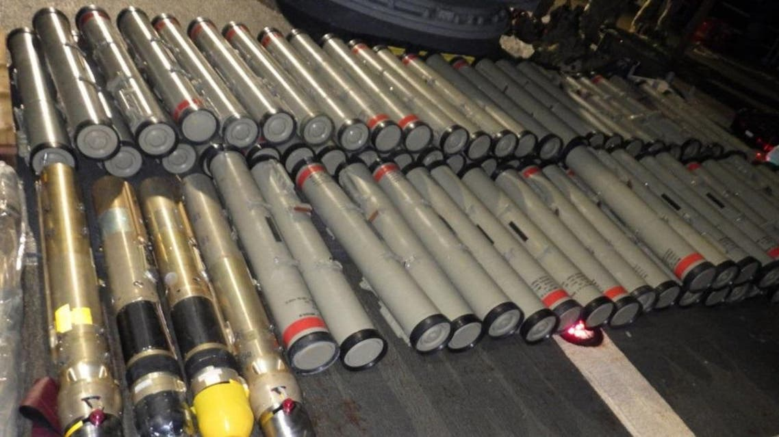US Navy seizes an illicit shipment of advanced weapons and weapon components. (File Photo: US Navy)