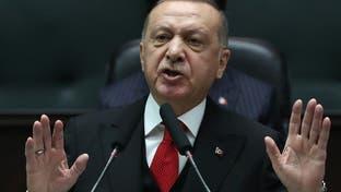 أردوغان يطلب من ماكرون وميركل خطوات ملموسة بشأن إدلب