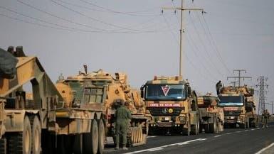 تركيا تواصل استقدام الأرتال العسكرية إلى سوريا