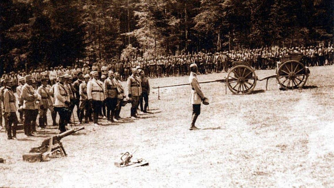 جانب من القوات الرومانية بالحرب العالمية الأولى