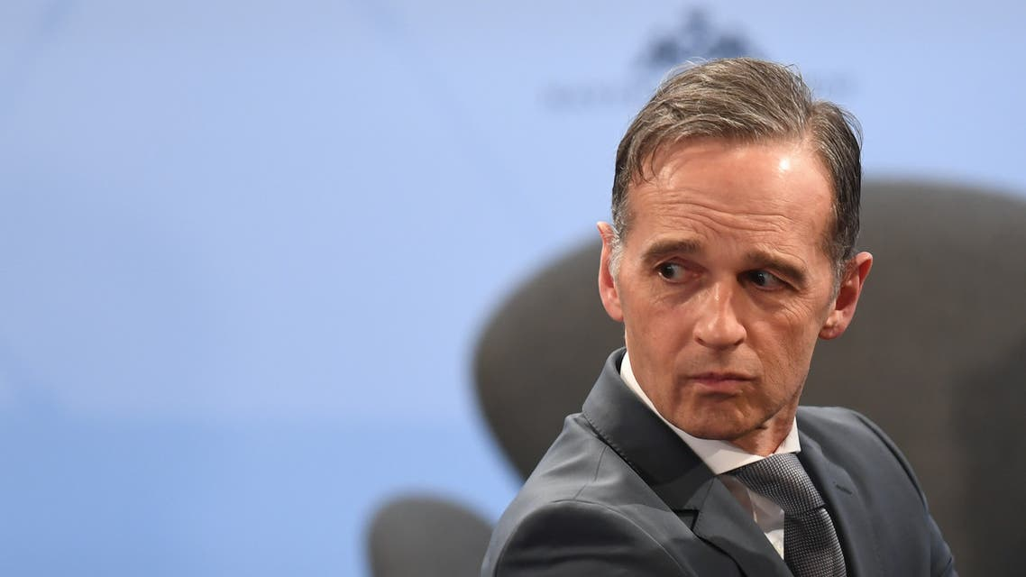 German Foreign Minister Heiko Maas takes part in a panel discussion at the 56th Munich Security Conference (MSC) in Munich, southern Germany, on February 14, 2020. The 2020 edition of the Munich Security Conference (MSC) takes place from February 14 to 16, 2020.