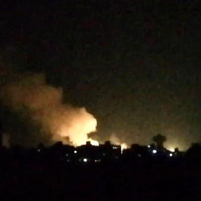 المرصد السوري: 8 قتلى موالين لإيران في قصف إسرائيلي على سوريا