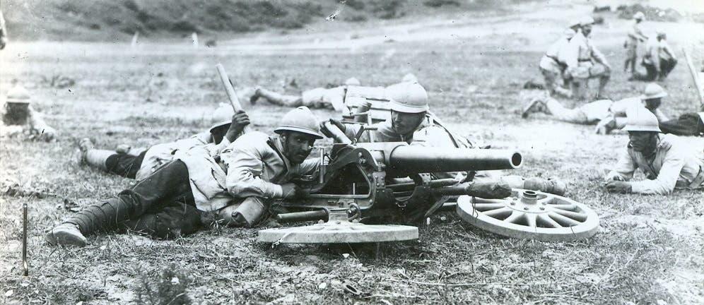 جنود رومانيون شاركوا بالحرب العالمية الأولى