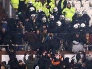 اشتباكات بين المشجعين عقب مباراة سانت باولي ودينامو دريسدن