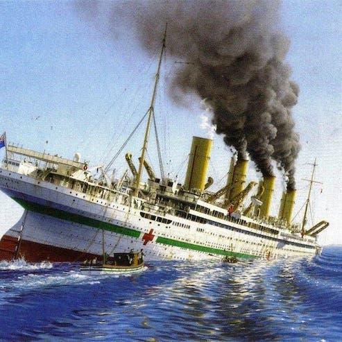 كيف كانت النهاية المأساوية للسفينة