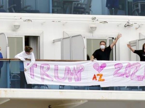 أميركا تجلي رعاياها من سفينة محتجزة باليابان بسبب كورونا
