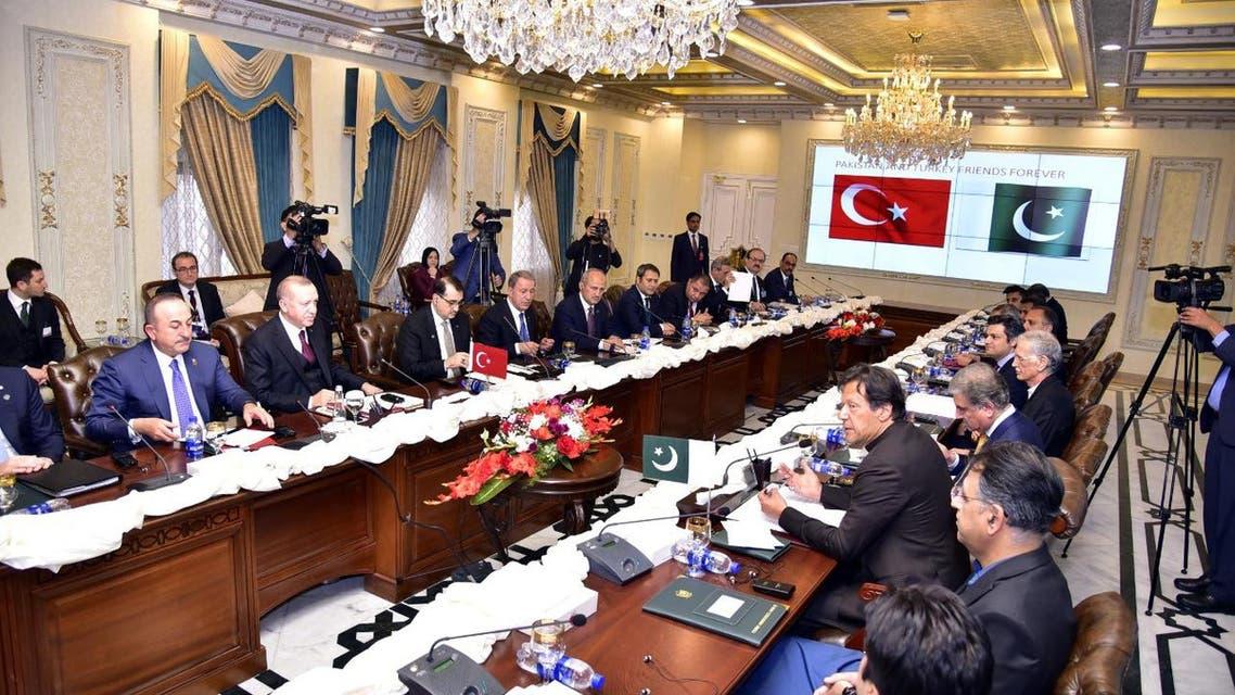 پاکستان اور ترکی کے درمیان مفاہمتی یادداشتوں پر دستخط