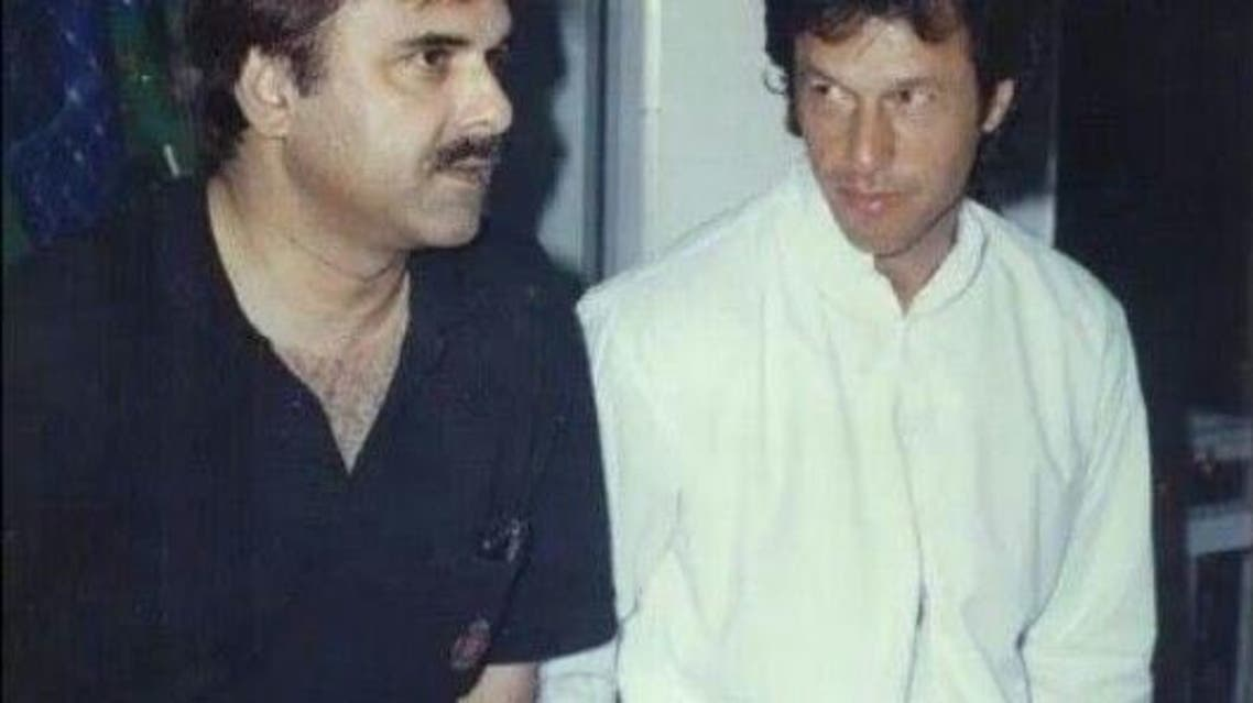 Naeem UL Haq With Imran Khan