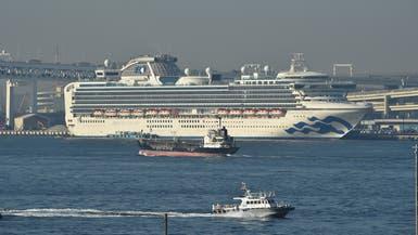 67 حالة كورونا جديدة على متن السفينة قبالة اليابان
