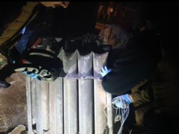 بغداد.. صور منصة الصواريخ التي طالت المنطقة الخضراء