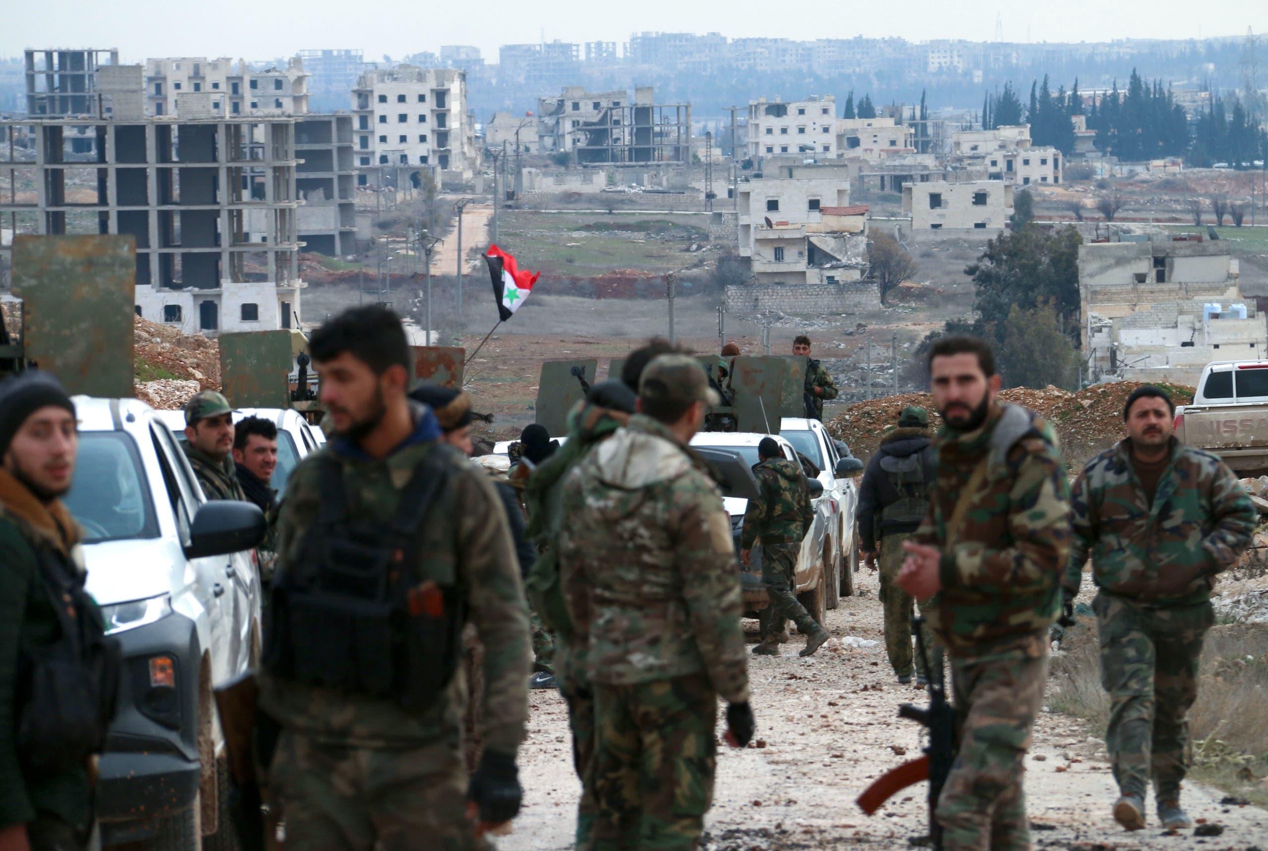 قوات النظام في حلب