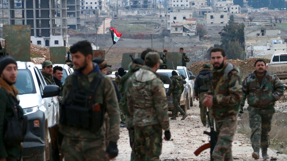 قوات النظام في حلب 16 شباط فرانس برس