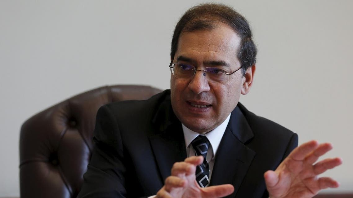 Egypt's Minister of Petroleum and Mineral Resources speaks during an interview with Reuters at his office in Cairo, Egypt, October 29, 2015. (File photo: Reuters)