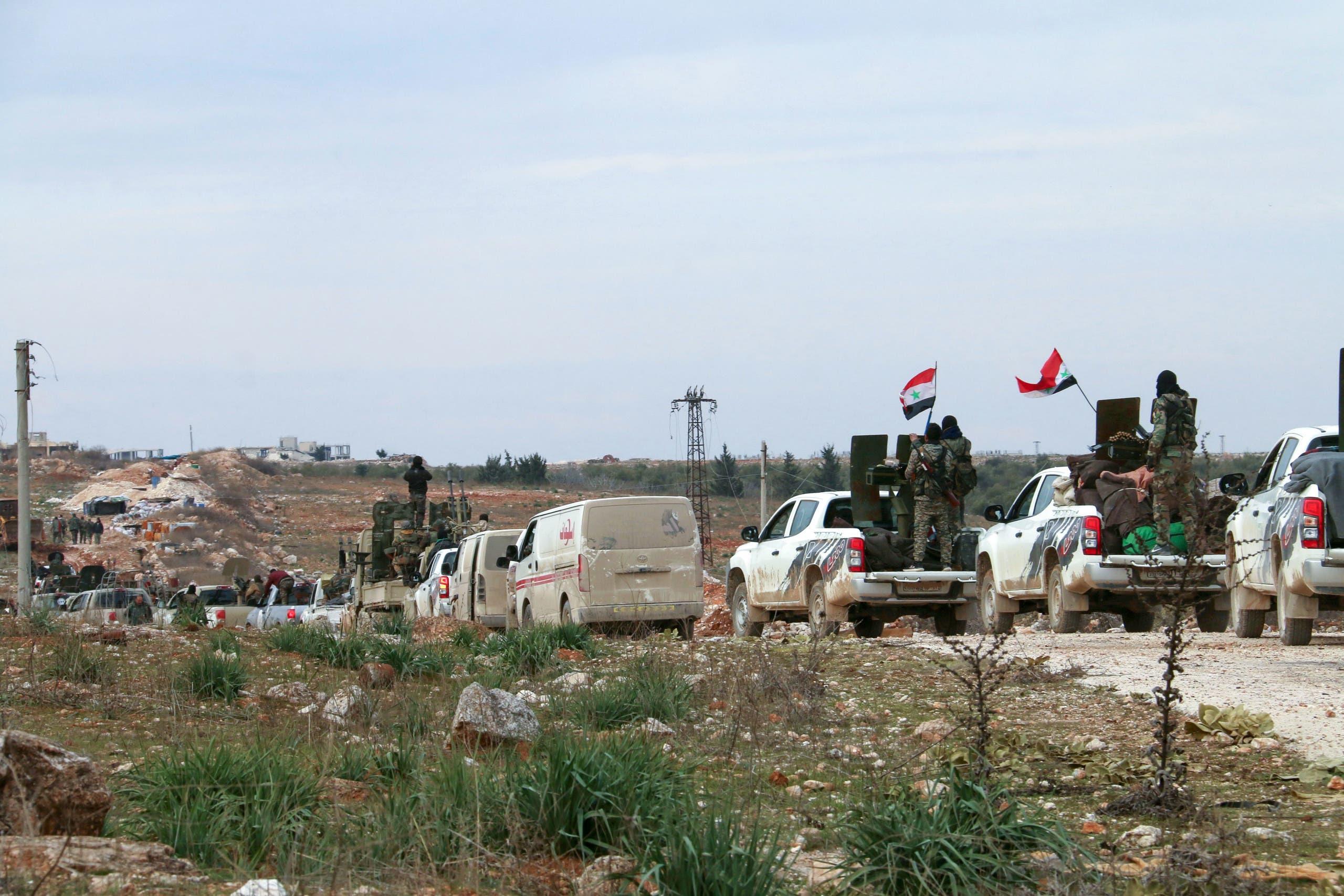 قوات النظام في حلب (أرشيفية- فرانس برس)