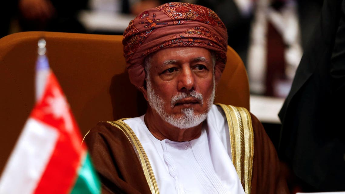 Oman's Foreign Minister Yusuf bin Alawi. (File photo: Reuters)