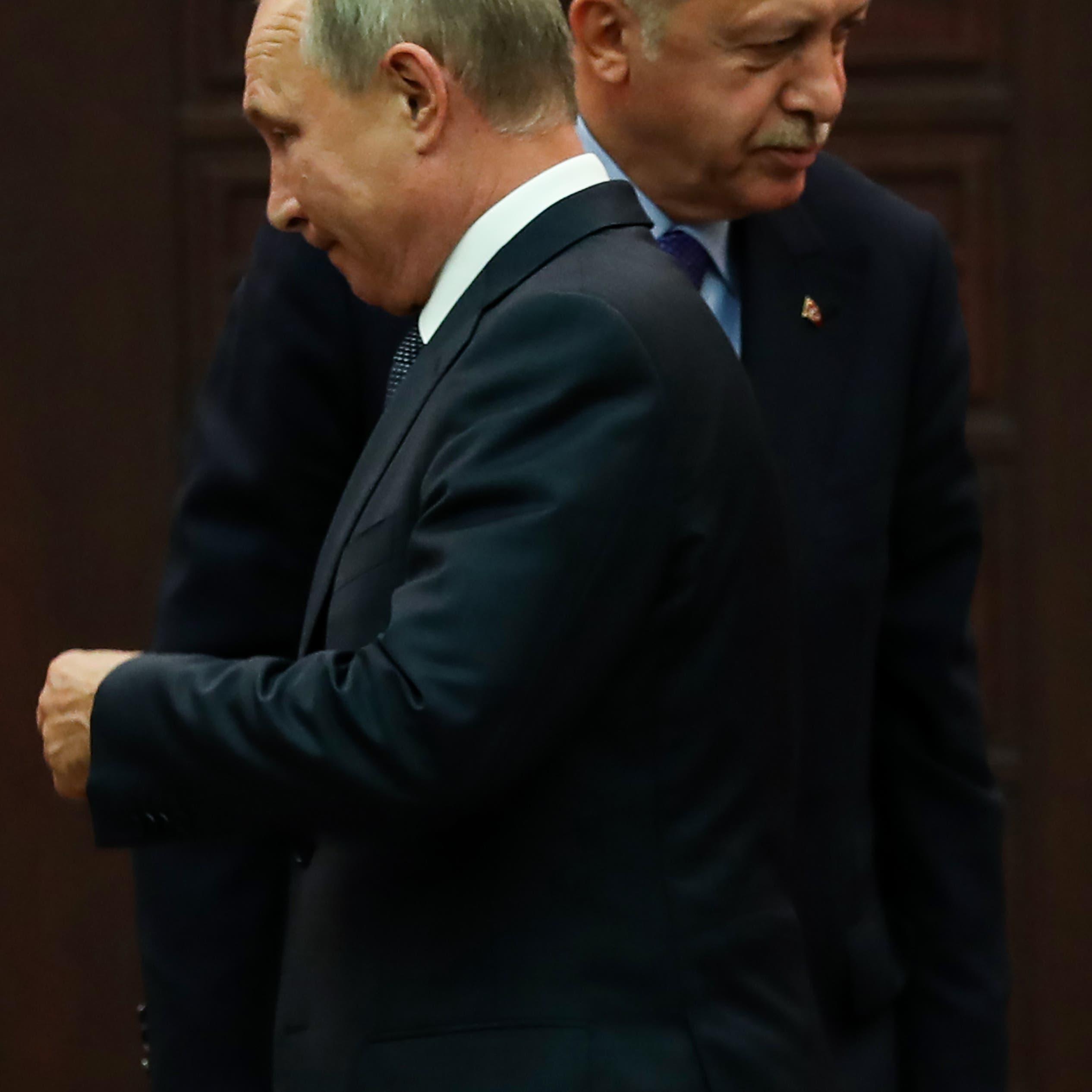 الكرملين يكذب أردوغان: بوتين مشغول