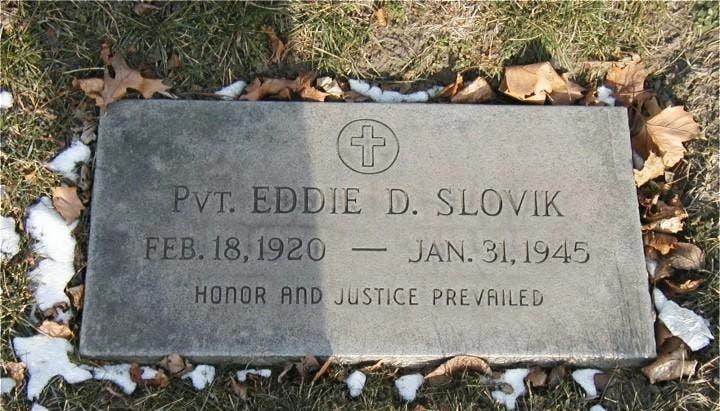 قبر إيدي سلوفيك