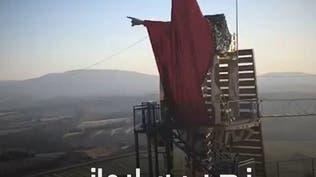 تمثال لسليماني في مارون الراس يثير غضب الشارع اللبناني