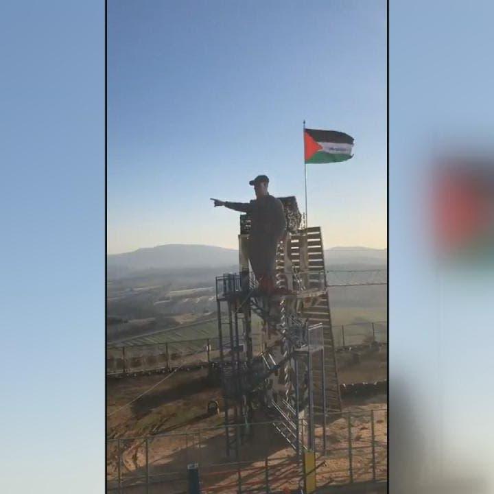 فيديو يوثق لحظة إزاحة ميليشيا حزب الله الستار عن تمثال سليماني