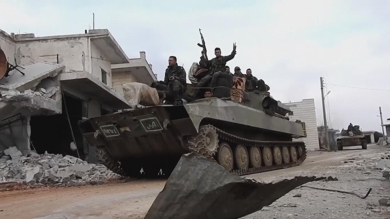 قوات من النظام في حلب