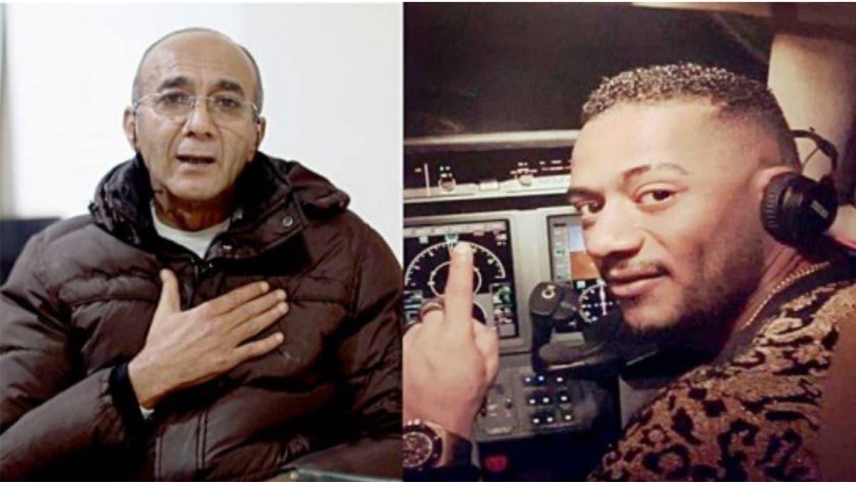 محمد رمضان يغرد بعد وفاة الطيار أبو اليسر.. بصورة
