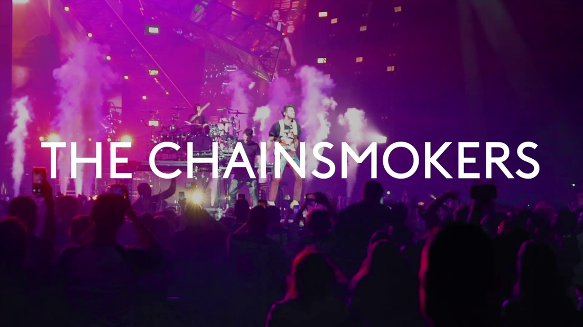 the chainsmokers Azimuth Festival promo