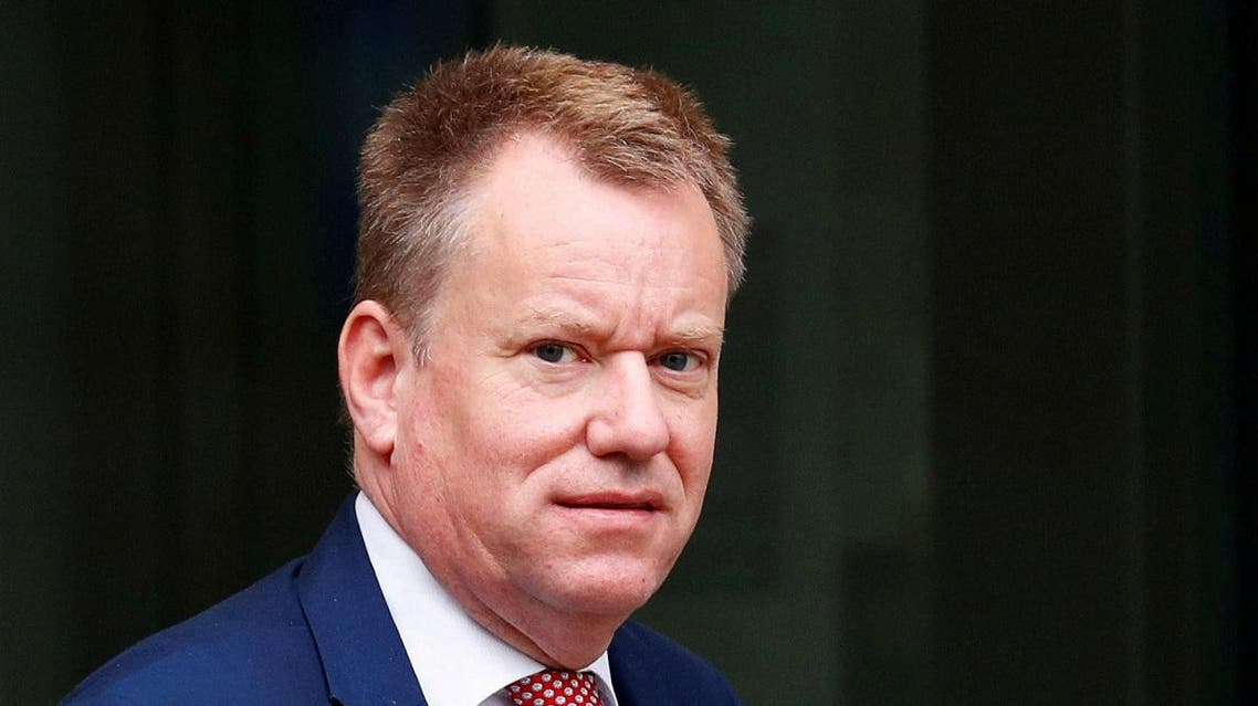 British Prime Minister Boris Johnson's Europe adviser David Frost leaves the European Commission headquarters after a meeting with officials in Brussels. (File photo: Reuters)