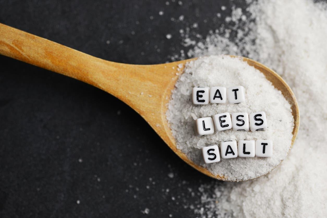 تجنب الإكثار من الملح في الطعام