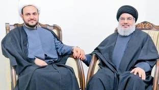 """صورة لنصرالله والكعبي.. """"النجباء"""" تلاقي حزب الله"""
